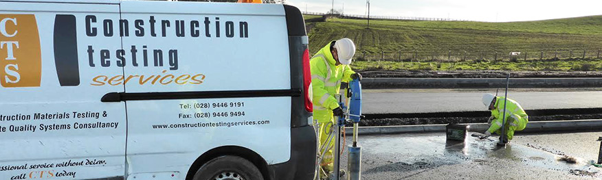 Construction Testing Services; Road Goring
